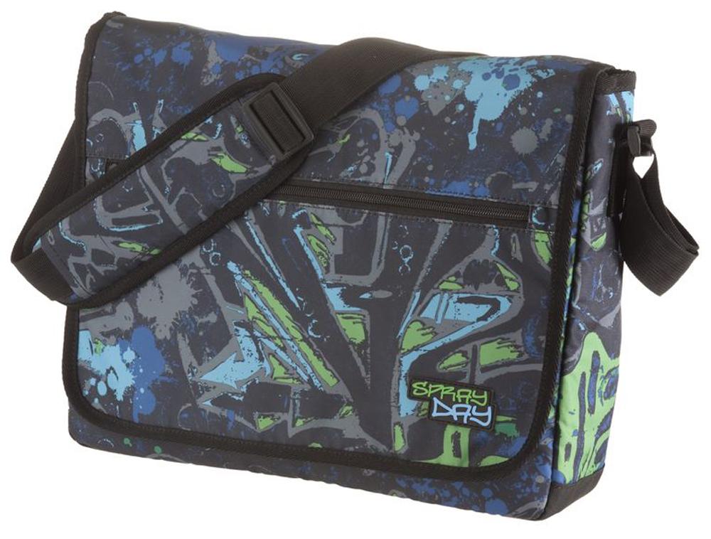 Walker Школьный ранец Fun Spray Day цвет синий зеленый72523WDПрочная и вместительная сумка Walker смотрится элегантно в любой ситуации. Идеальный выбор для школы , университета или досуга.