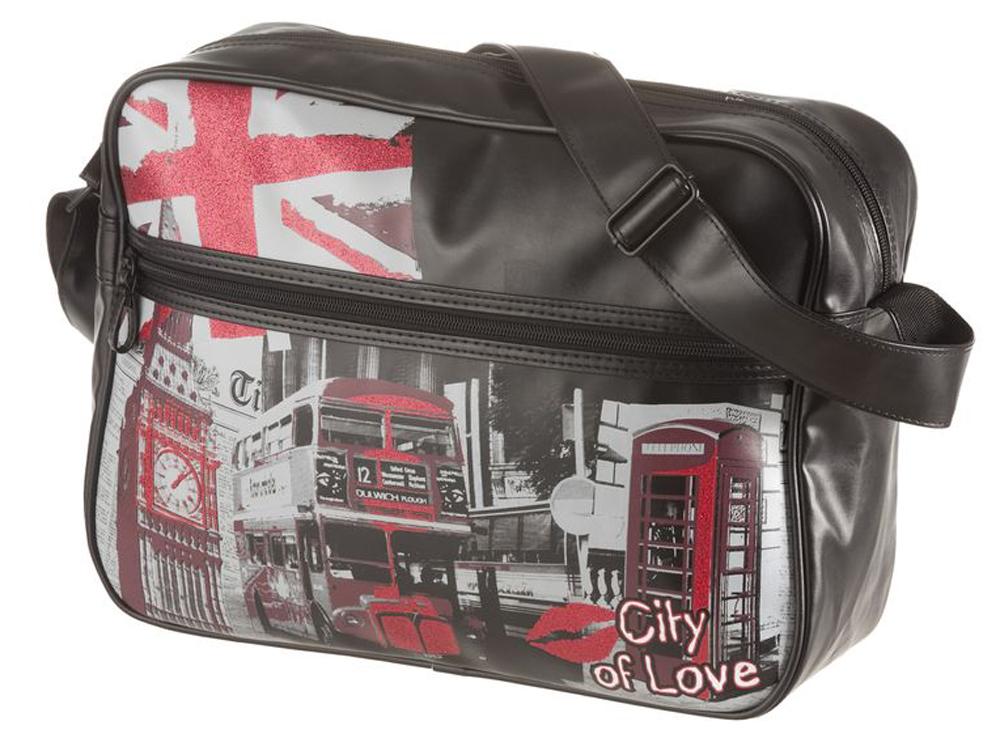 Walker Школьная сумка Fun City of LoveASB4005/2 SETПрочная и вместительная сумка Walker смотрится элегантно в любой ситуации. Идеальный выбор для школы , университета или досуга.