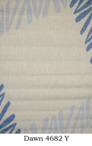 Ковер Oriental Weavers Давн, цвет: бежевый, 120 см х 170 см. 4682 YWUB 5647 weisЦиновка из полипропилена-удобно, практично, современно