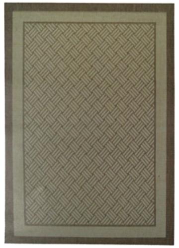 Коврик прикроватный Oriental Weavers Давн, цвет: коричневый, 80 см х 160 см. 1828 D531-401Циновка из полипропилена-удобно, практично, современно