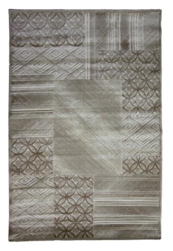 Ковер Oriental Weavers Скай Лайн, цвет: серо-коричневый, 120 х 180 см. 611 ХES-412Высокоплотный ковер с рельефной стрижкой из полипропилена - станет незаменимым для спальни и гостиной. Стильный ковер Oriental Weavers непременно дополнит и классический, и современный интерьеры.