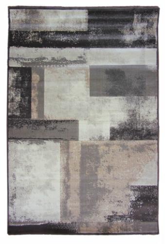 Ковер Oriental Weavers Скай Лайн, цвет: серо-коричневый, 120 х 180 см. 612 Y17127Высокоплотный ковер с рельефной стрижкой из полипропилена - станет незаменимым для спальни и гостиной. Стильный ковер Oriental Weavers непременно дополнит и классический, и современный интерьеры.