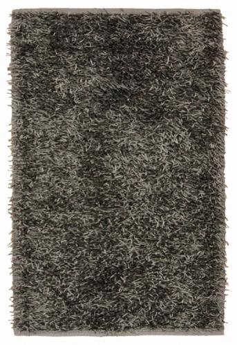 Коврик прикроватный Oriental Weavers Беллини, цвет: черный, 70 см х 130 см. 17385531-103Сочетание ворса из полиэстера и хлопковой основы, что придает ковру дополнительную мягкость и удобство, делает эту коллекцию незаменимой для спальни и детской