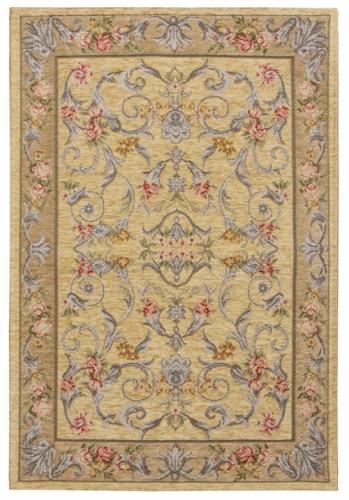 Коврик прикроватный Oriental Weavers Санлайт, цвет: светло-коричневый, 75 х 120 см. 225 ТU210DFЯркий гобеленовый ковер Oriental Weavers с оригинальным дизайном станет отличным дополнением классического и современного интерьера.