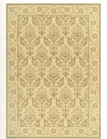 Ковер Oriental Weavers Давн, цвет: бежевый, 120 х 170 см. 125 DES-412Циновка из полипропилена - удобно, практично, современно. Оригинальный ковер от известной египетской фабрики Oriental Weavers подойдет для современных и классических интерьеров.