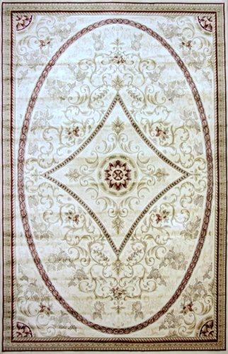 Ковер Oriental Weavers Мумбай, цвет: бежевый, 115 х 180 см. 0081 W CH881ES-412Высокоплотный ковер из вискозы с традиционным классическим дизайном станет отличным дополнением интерьера и придаст ему неповторимый классический оттенок.
