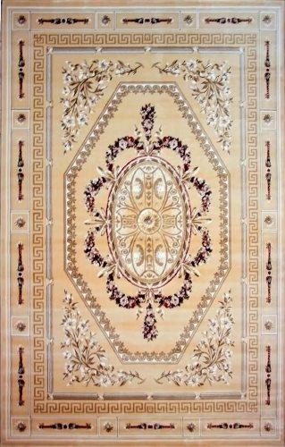 Ковер Oriental Weavers Мумбай, цвет: светло-бежевый, 115 х 180 см. 5990 ABJ AATHN132NВысокоплотный ковер из вискозы с традиционным классическим дизайном станет отличным дополнением интерьера и придаст ему неповторимый классический оттенок.