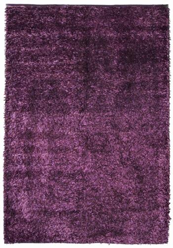 Коврик прикроватный Oriental Weavers Беллини, цвет: фиолетовый, 70 см х 130 см. 21405ES-412Сочетание ворса из полиэстера и хлопковой основы, что придает ковру дополнительную мягкость и удобство, делает эту коллекцию незаменимой для спальни и детской