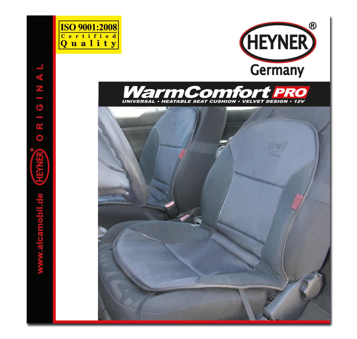 Накидка на сиденье Heyner, с подогревом, цвет: серый, 12VCA-3505Накидка Heyner предназначена для сиденья водителя. Изделие выполнено из прочного материала и снабжено большой поверхностью подогрева. Три режима подогрева обеспечивают комфорт во время эксплуатации. Нагревательные элементы устойчивы к поломке. Накидка снабжена кабелем для подключения к прикуривателю. Защита от перегрева гарантирует долгий срок службы.Напряжение: 12V.