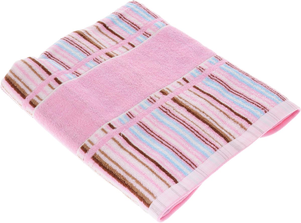 Полотенце Soavita Premium. Lucia, цвет: розовый, 70 х 140 смC0042416Полотенце Soavita Premium. Lucia выполнено из 100% хлопка. Изделие отлично впитывает влагу, быстро сохнет, сохраняет яркость цвета и не теряет форму даже после многократных стирок. Полотенце очень практично и неприхотливо в уходе. Оно создаст прекрасное настроение и украсит интерьер в ванной комнате.