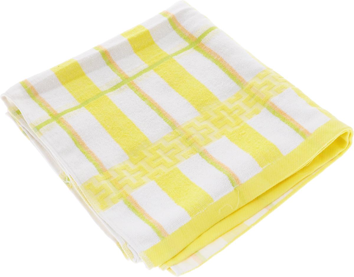 Полотенце Soavita Светлая клетка, цвет: желтый, белый, зеленый, 70 х 140 смC0042416Полотенце Soavita Светлая клетка выполнено из 100% хлопка. Изделие отлично впитывает влагу, быстро сохнет, сохраняет яркость цвета и не теряет форму даже после многократных стирок. Полотенце очень практично и неприхотливо в уходе. Оно создаст прекрасное настроение и украсит интерьер в ванной комнате.