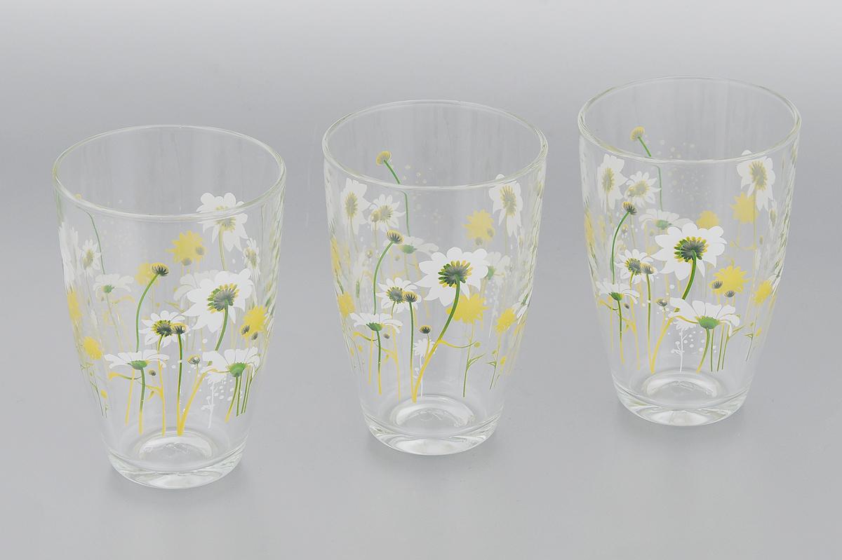 Набор стаканов Pasabahce Камилла, 360 мл, 3 штVT-1520(SR)Набор Pasabahce Камилла состоит из трех стаканов, выполненных из высококачественного стекла и оформленных ярким цветочным рисунком.Изделия предназначены для подачи воды и других безалкогольных напитков. Они отличаютсяособой легкостью ипрочностью, излучают приятный блеск и издают мелодичный хрустальный звон. Изделия устойчивы к перепадам температур.Стаканы станут идеальным украшением праздничного стола и отличным подарком к любому празднику.Можно мыть в посудомоечной машине.Диаметр стакана (по верхнему краю): 8 см.Высота: 12 см.