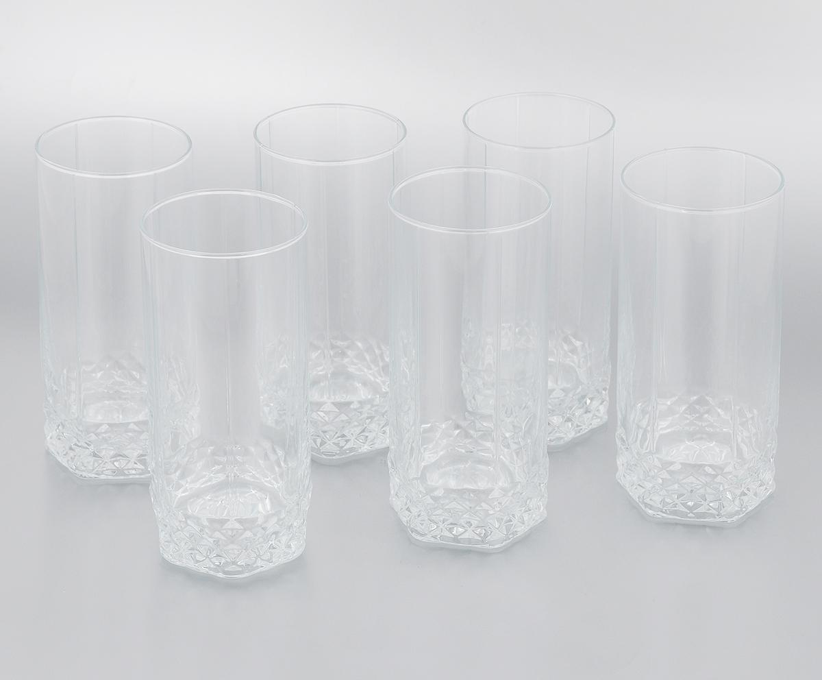 Набор стаканов Pasabahce Valse, 290 мл, 6 штVT-1520(SR)Набор Luminarc Pasabahce Valse состоит из 6 стаканов, выполненных из прочного натрий-кальций-силикатного стекла, которое выдерживает нагрев до 70°С.Изделия предназначены для подачи воды и других безалкогольных напитков. Они отличаютсяособой легкостью ипрочностью, излучают приятный блеск и издают мелодичный хрустальный звон.Стаканы станут идеальным украшением праздничного стола и отличным подарком к любомупразднику.Можно мыть в посудомоечной машине и использовать в микроволновой печи.Диаметр стакана (по верхнему краю): 6 см.Высота: 13,5 см.