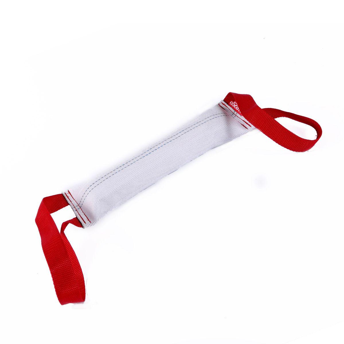 Игрушка для собак OSSO Fashion Кусалка, с двумя ручками, длина 40 см