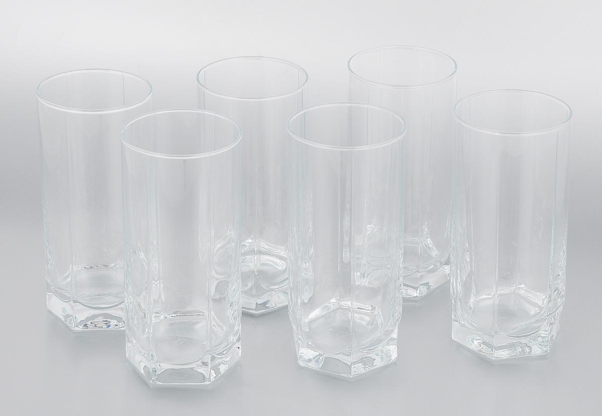 Набор стаканов Pasabahce Tango, 440 мл, 6 штVT-1520(SR)Набор Pasabahce Tango состоит из шести стаканов, выполненных из прочного натрий-кальций-силикатного стекла, которое выдерживает максимальную температуру до + 70°С. Стаканы, оснащенные рельефной многогранной поверхностью и утолщенным дном. Можно мыть в посудомоечной машине и использовать в микроволновой печи.Высота стакана: 15,5 см.Диаметр стакана (по верхнему краю): 6,5 см.