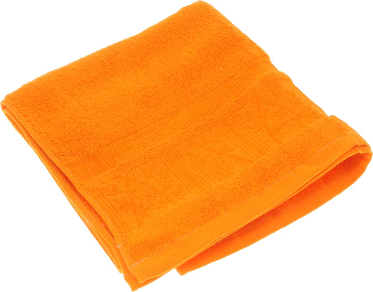 Полотенце Soavita Sofia, цвет: оранжевый, 50 х 90 см1004900000360Полотенце Soavita Sofia выполнено из 100% бамбукового волокна. Изделие отлично впитывает влагу, быстро сохнет, сохраняет яркость цвета и не теряет форму даже после многократных стирок. Полотенце очень практично и неприхотливо в уходе. Оно создаст прекрасное настроение и украсит интерьер в ванной комнате.