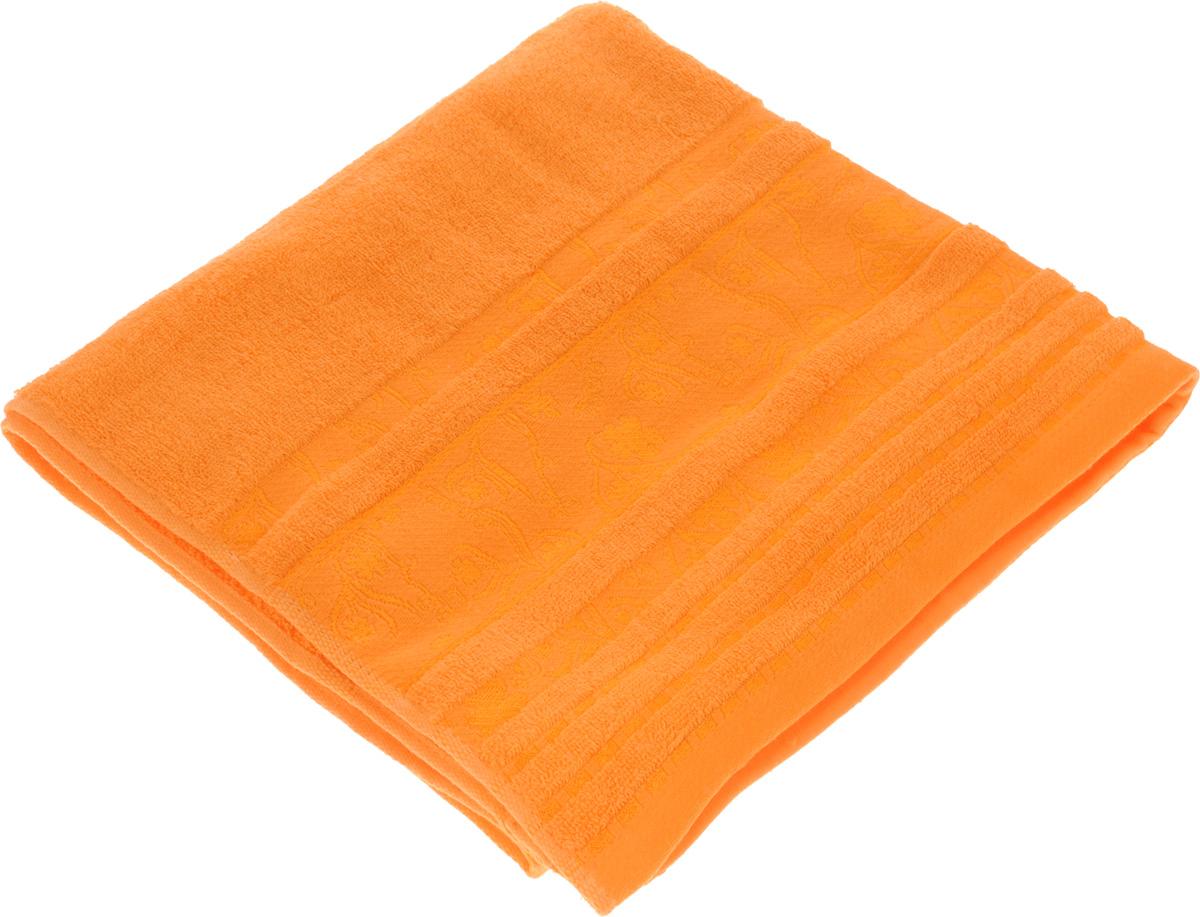 Полотенце Soavita Sandra, цвет: оранжевый, 70 х 140 см68/5/3Полотенце Soavita Sandra выполнено из 100% хлопка. Изделие отлично впитывает влагу, быстро сохнет, сохраняет яркость цвета и не теряет форму даже после многократных стирок. Полотенце очень практично и неприхотливо в уходе. Оно создаст прекрасное настроение и украсит интерьер в ванной комнате.