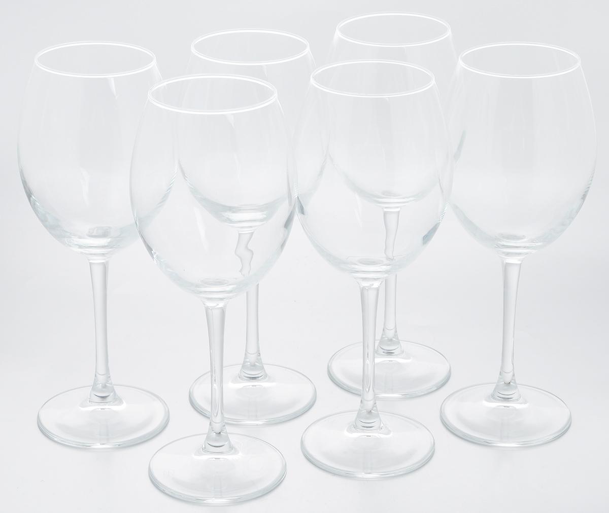 Набор бокалов для красного вина Pasabahce Enoteca, 550 мл, 6 шт2414/41Набор Pasabahce Enoteca состоит из шести бокалов, выполненных из прочного натрий-кальций-силикатного стекла. Изделия оснащены высокими ножками. Бокалы предназначены для подачи красного вина. Они сочетают в себе элегантный дизайн и функциональность. Набор бокалов Pasabahce Enoteca прекрасно оформит праздничный стол и создаст приятную атмосферу за романтическим ужином. Такой набор также станет хорошим подарком к любому случаю. Можно мыть в посудомоечной машине.Диаметр бокала (по верхнему краю): 7 см. Высота бокала: 23,5 см.