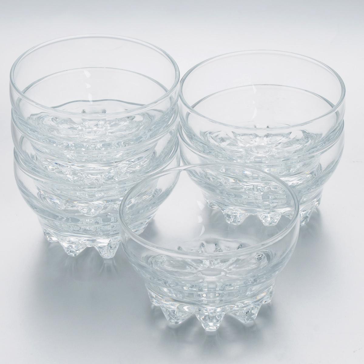 Набор салатников Pasabahce Sylvana, диаметр 10,2 см, 6 шт10250BНабор Pasabahce Sylvana, выполненный из высококачественного натрий-кальций-силикатного стекла, состоит из шести салатников. Такие салатники прекрасно подходят для порционной сервировки десертов, а также варенья, различных соусов и закусок.Изящный дизайн, высокое качество и функциональность набора Pasabahce Sylvana позволят ему стать достойным дополнением к вашему кухонному инвентарю.Можно мыть в посудомоечной машине, использовать в микроволновой печи, холодильнике и морозильной камере.Диаметр салатника: 10,2 см.