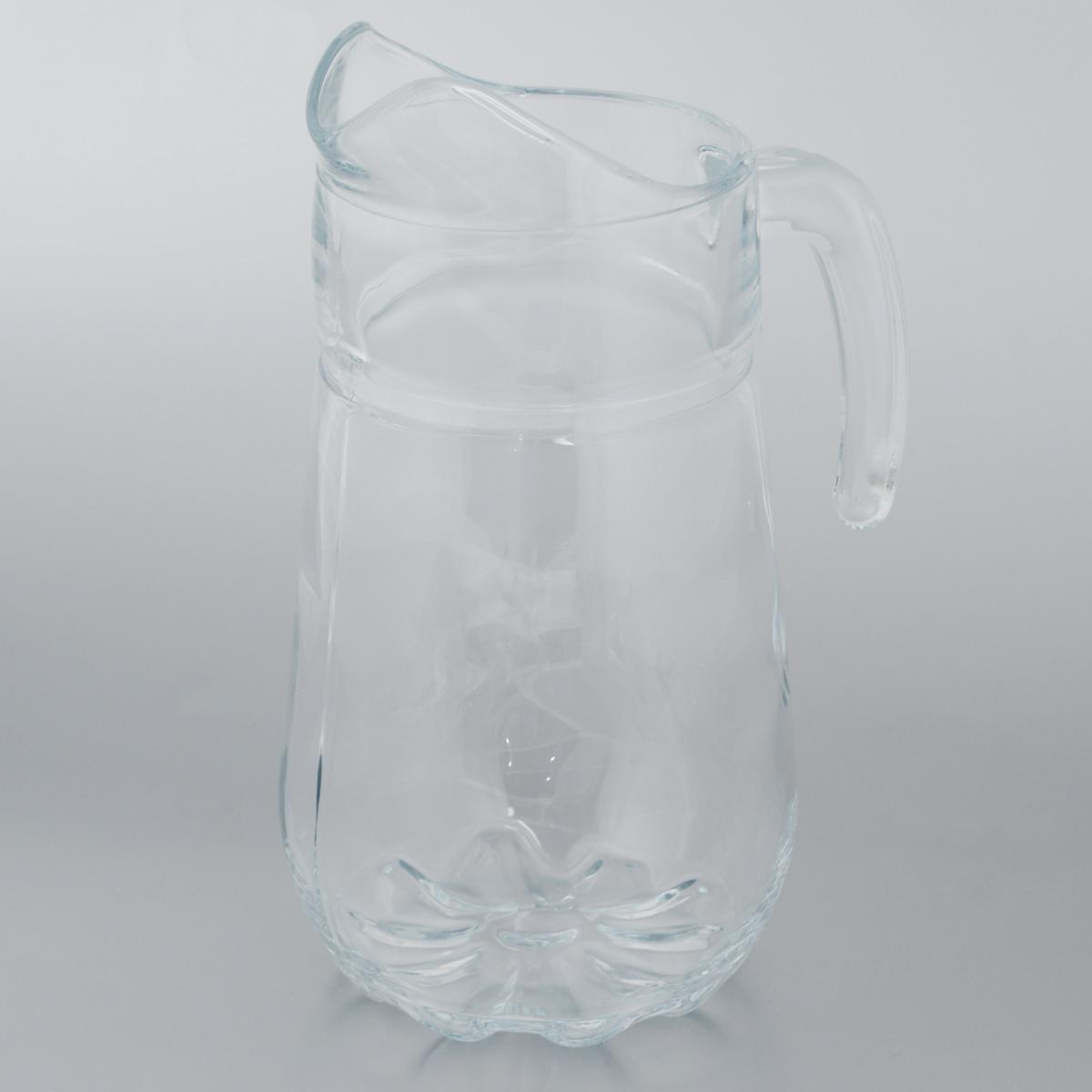 Кувшин Pasabahce Sylvana, 1,37 лVT-1520(SR)Кувшин Sylvana, выполненный из прочного натрий-кальций-силикатного стекла, элегантно украсит ваш стол. Кувшин прекрасно подойдет для подачи воды, сока, компота и других напитков. Изделие оснащено ручкой и специальным носиком для удобного выливания жидкости. Совершенные формы и изящный дизайн, несомненно, придутся по душе любителям классического стиля. Кувшин Sylvana дополнит интерьер вашей кухни и станет замечательным подарком к любому празднику.Можно мыть в посудомоечной машине.Диаметр кувшина по верхнему краю (без учета носика): 9 см.Высота кувшина: 24,5 см.