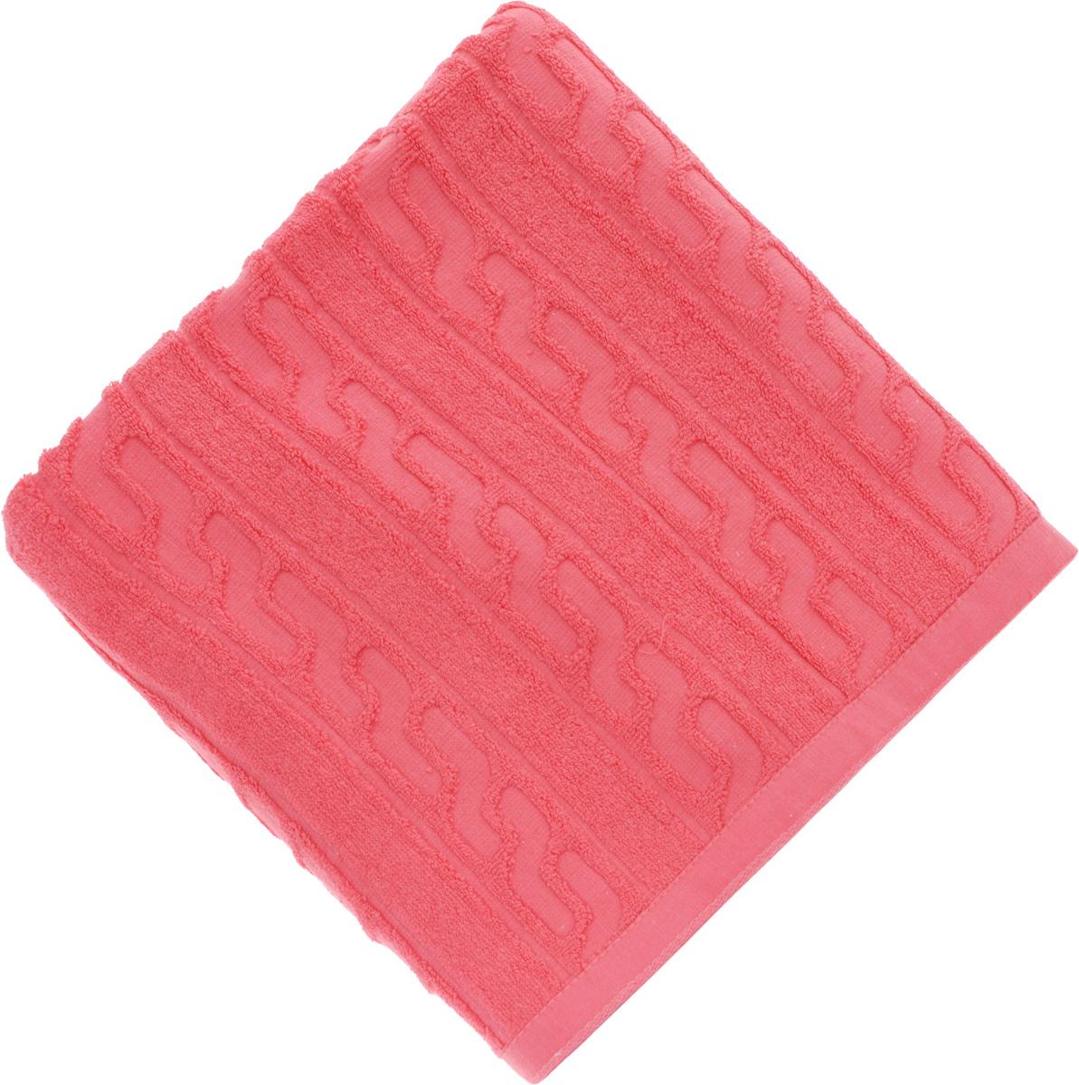 Полотенце Soavita Paolo, цвет: красный, 50 х 90 смES-412Полотенце Soavita Paolo выполнено из 100% хлопка. Изделие отлично впитывает влагу, быстро сохнет, сохраняет яркость цвета и не теряет форму даже после многократных стирок. Полотенце очень практично и неприхотливо в уходе. Оно создаст прекрасное настроение и украсит интерьер в ванной комнате.