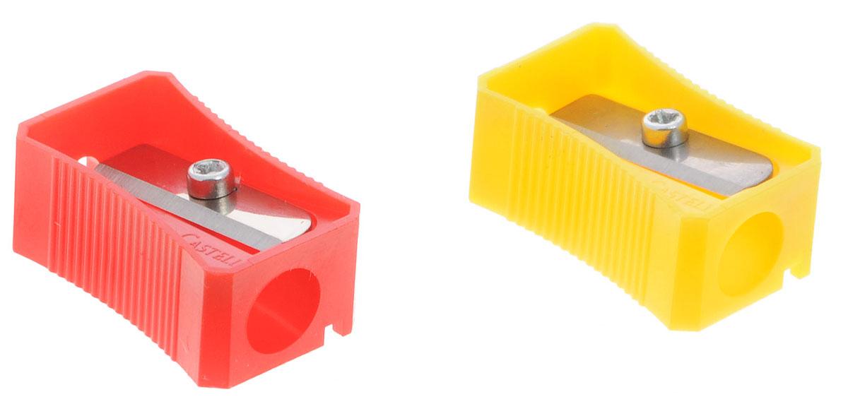 Faber-Castell Точилка цвет красный желтый 2 шт263221_красный, желтыйТочилка Faber-Castell предназначена для затачивания классических простых и цветных карандашей.В наборе две точилки из прочного пластика красного и желтого цветов с рифленой областью захвата. Острые лезвия обеспечивают высококачественную и точную заточку деревянных карандашей.