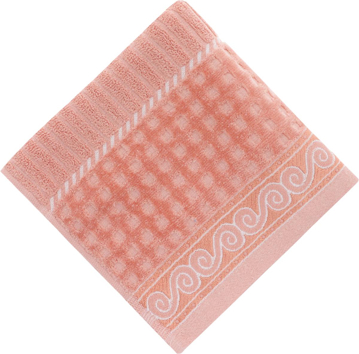 Полотенце Soavita Луи, цвет: коралловый, 50 х 90 см25051 7_желтыйПолотенце Soavita Луи выполнено из 100% хлопка. Изделие отлично впитывает влагу, быстро сохнет, сохраняет яркость цвета и не теряет форму даже после многократных стирок. Полотенце очень практично и неприхотливо в уходе. Оно создаст прекрасное настроение и украсит интерьер в ванной комнате.