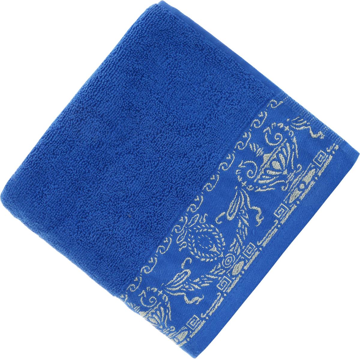 Полотенце Soavita Premium. Амфора, цвет: синий, 45 х 80 смU210DFПолотенце Soavita Premium. Амфора выполнено из 100% хлопка. Изделие отлично впитывает влагу, быстро сохнет, сохраняет яркость цвета и не теряет форму даже после многократных стирок. Полотенце очень практично и неприхотливо в уходе. Оно создаст прекрасное настроение и украсит интерьер в ванной комнате.