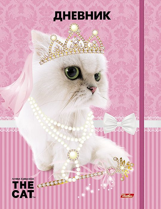 Hatber Дневник школьный The Cat