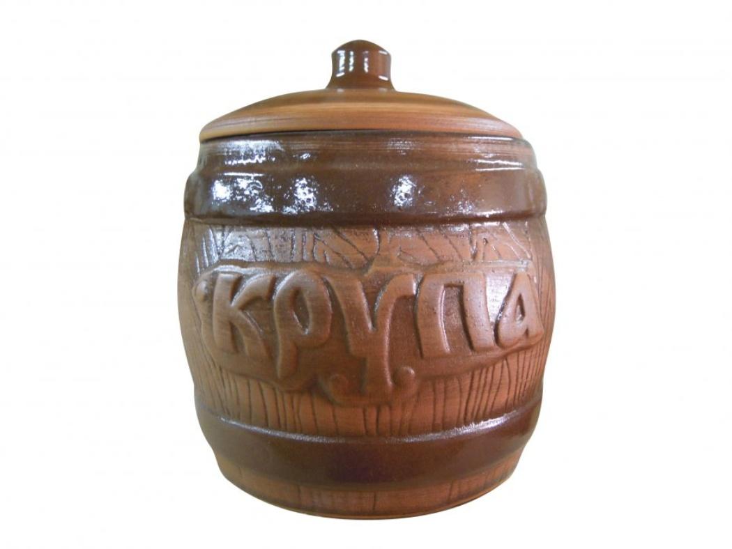 Бочонок Борисовская керамика Крупа, 1,2 л бочонок ду 50 в юао