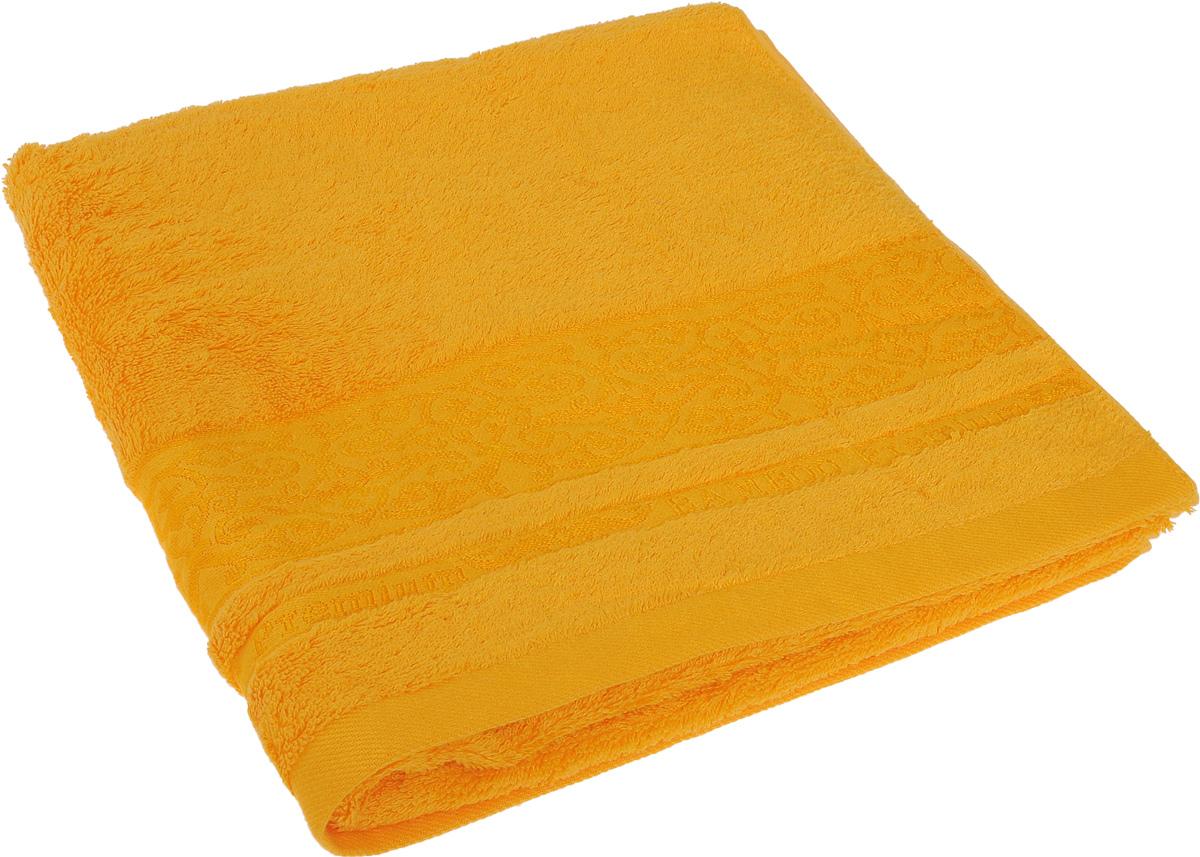 Полотенце Soavita Mario, цвет: желтый, 70 х 140 см1004900000360Полотенце Soavita Mario выполнено из 100% бамбукового волокна и украшено узорами. Изделие отлично впитывает влагу, быстро сохнет, сохраняет яркость цвета и не теряет форму даже после многократных стирок. Полотенце очень практично и неприхотливо в уходе. Оно создаст прекрасное настроение и украсит интерьер в ванной комнате.