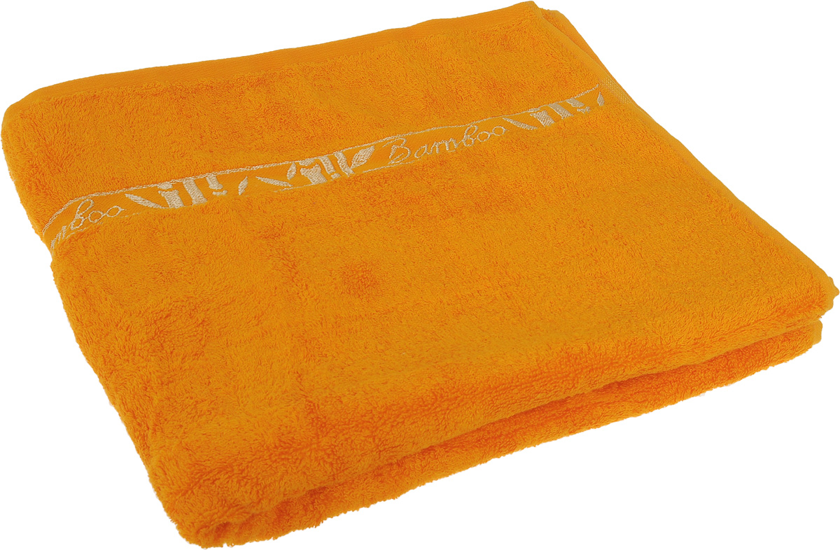 Полотенце Soavita Andrea, цвет: желтый, золотистый, 70 х 120 смRC-100BWCПолотенце Soavita Andrea выполнено из 100% бамбукового волокна. Изделие отлично впитывает влагу, быстро сохнет, сохраняет яркость цвета и не теряет форму даже после многократных стирок. Полотенце очень практично и неприхотливо в уходе. Оно создаст прекрасное настроение и украсит интерьер в ванной комнате.