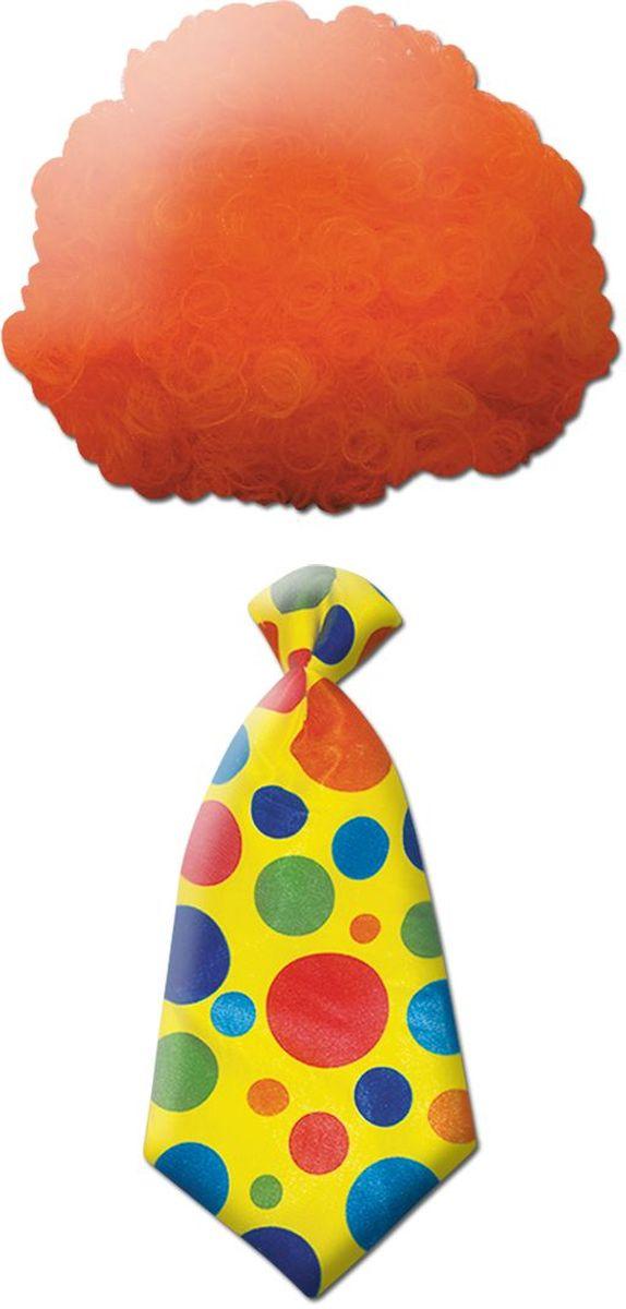 Изделие развлекательного характера. Клоунский набор подарит радость перевоплощения, создав веселый образ, и наполнит всех положительными эмоциями. Материал: полиэстер