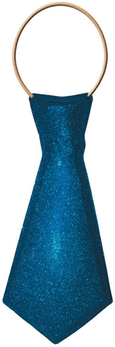 Partymania Галстук карнавальный цвет синий