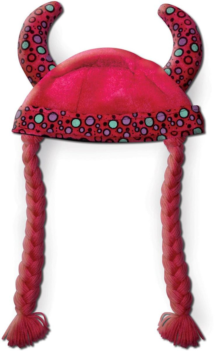 Partymania Шляпа карнавальная Викинг цвет красный -  Колпаки и шляпы