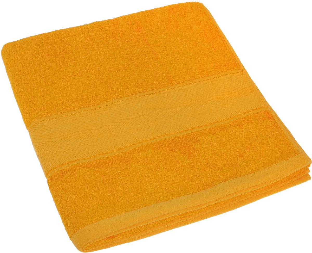Полотенце Soavita Stefano, цвет: желтый, 70 х 140 см1092019Полотенце Soavita Stefano выполнено из 100% бамбукового волокна. Изделие отлично впитывает влагу, быстро сохнет, сохраняет яркость цвета и не теряет форму даже после многократных стирок. Полотенце очень практично и неприхотливо в уходе. Оно создаст прекрасное настроение и украсит интерьер в ванной комнате.