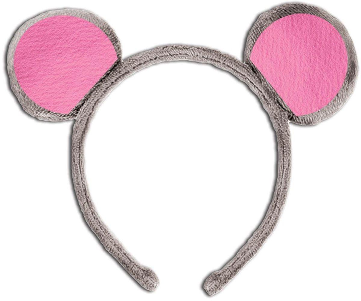 Partymania Ободок детский Веселые зверята Мышь -  Аксессуры для карнавальных костюмов