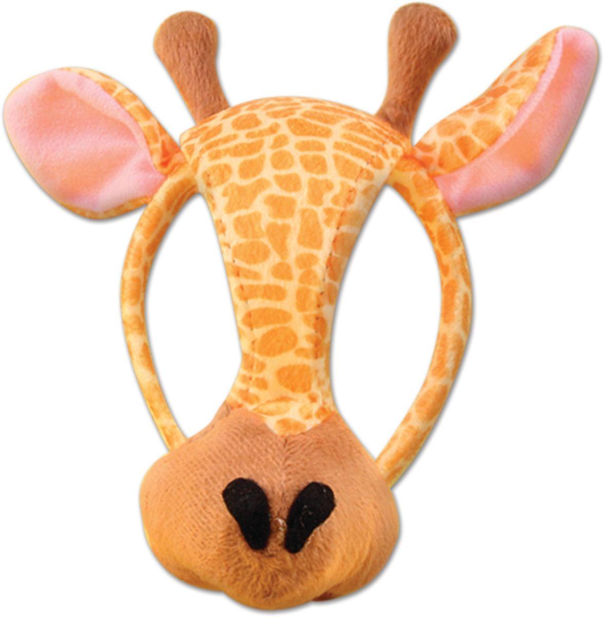 Partymania Маска карнавальная детская Жираф со звуком