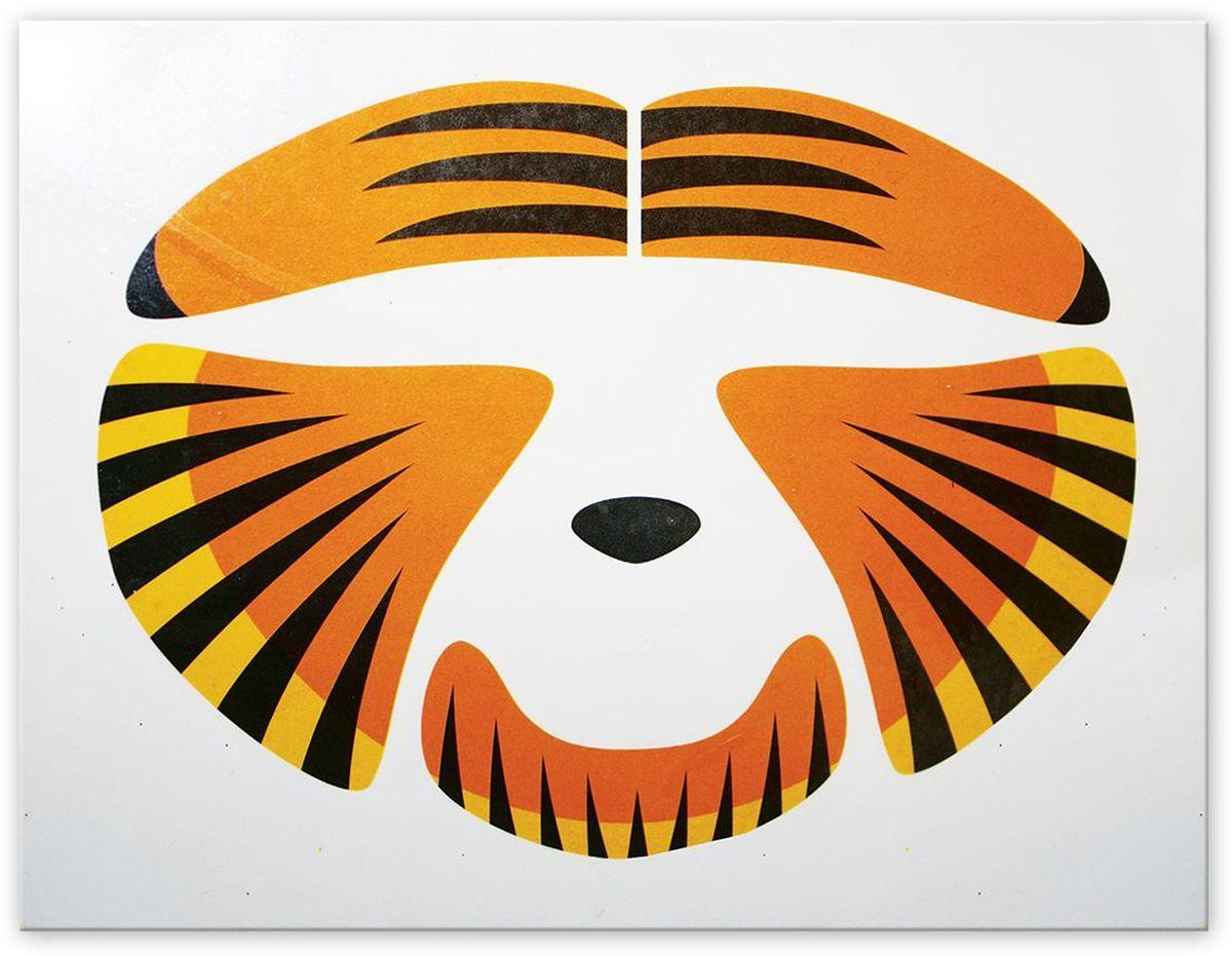 Partymania Украшение-стикер для лица Тигр -  Украшение волос, лица и тела