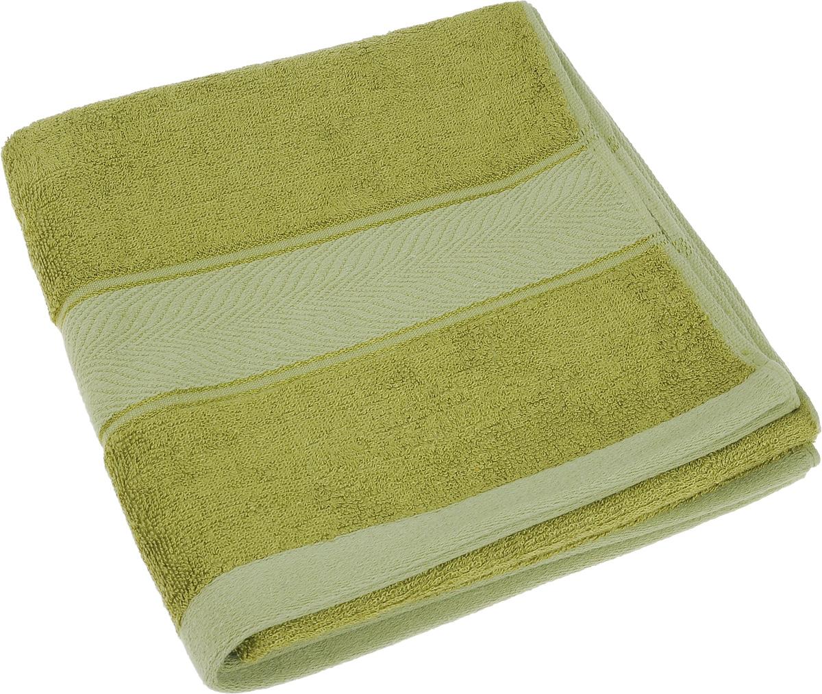 Полотенце Soavita Stefano, цвет: зеленый, 50 х 100 см68/5/1Полотенце Soavita Stefano выполнено из 100% бамбукового волокна. Изделие отлично впитывает влагу, быстро сохнет, сохраняет яркость цвета и не теряет форму даже после многократных стирок. Полотенце очень практично и неприхотливо в уходе. Оно создаст прекрасное настроение и украсит интерьер в ванной комнате.