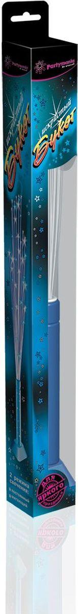 Partymania Игрушка-светильник Искристый букет цвет голубой partymania галстук карнавальный цвет зеленый