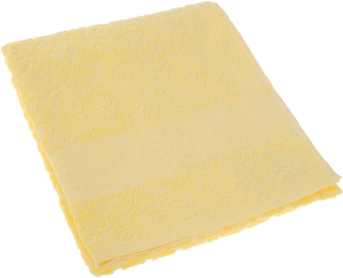 Полотенце Soavita Luxury. Квадро, цвет: желтый, 70 х 140 смS03301004Полотенце Soavita Luxury. Квадро выполнено из 100% хлопка. Изделие отлично впитывает влагу, быстро сохнет, сохраняет яркость цвета и не теряет форму даже после многократных стирок. Полотенце очень практично и неприхотливо в уходе. Оно создаст прекрасное настроение и украсит интерьер в ванной комнате.
