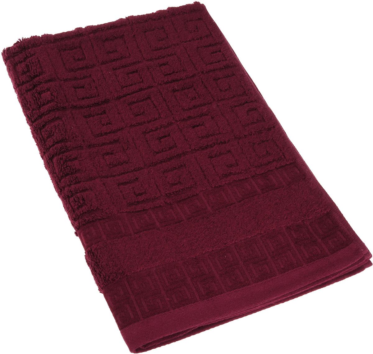 Полотенце Soavita Alber, цвет: бордовый, 50 х 70 смES-412Полотенце Soavita Alber выполнено из 100% бамбукового волокна. Изделие отлично впитывает влагу, быстро сохнет, сохраняет яркость цвета и не теряет форму даже после многократных стирок. Полотенце очень практично и неприхотливо в уходе. Оно создаст прекрасное настроение и украсит интерьер в ванной комнате.