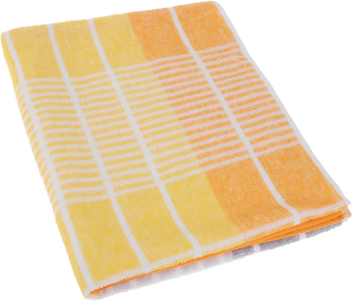 Полотенце Soavita Твист, цвет: оранжевый, 50 х 90 смWUB 5647 weisПолотенце Soavita Твист выполнено из 100% хлопка. Изделие отлично впитывает влагу, быстро сохнет, сохраняет яркость цвета и не теряет форму даже после многократных стирок. Полотенце очень практично и неприхотливо в уходе. Оно создаст прекрасное настроение и украсит интерьер.