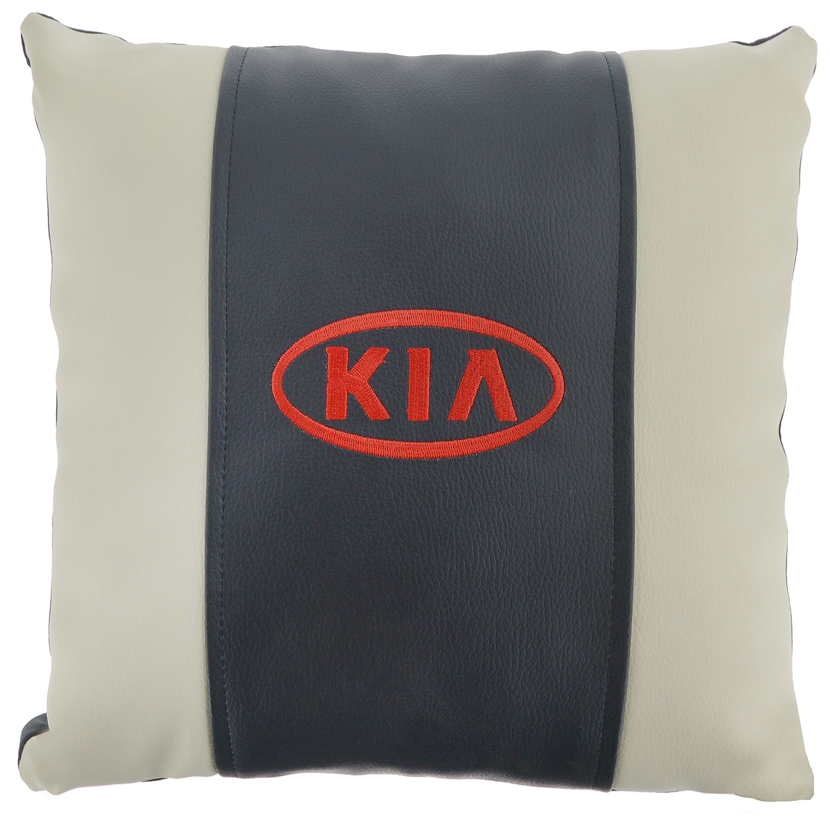 Подушка на сиденье Autoparts Kia, цвет: молочный, темно-серый, 30 х 30 смS03301004Подушка на сиденье Autoparts Kia создана для тех, кто весь свой день вынужден проводить за рулем. Чехол выполнен из высококачественной дышащей экокожи. Задняя часть темно-серого цвета. Наполнителем служит холлофайбер. На задней части подушки имеется змейка.Особенности подушки:- Хорошо проветривается.- Предупреждает потение.- Поддерживает комфортную температуру.- Обминается по форме тела.- Улучшает кровообращение.- Исключает затечные явления.- Предупреждает развитие заболеваний, связанных с сидячим образом жизни. Подушка также будет полезна и дома - при работе за компьютером, школьникам - при выполнении домашних работ, да и в любимом кресле перед телевизором.