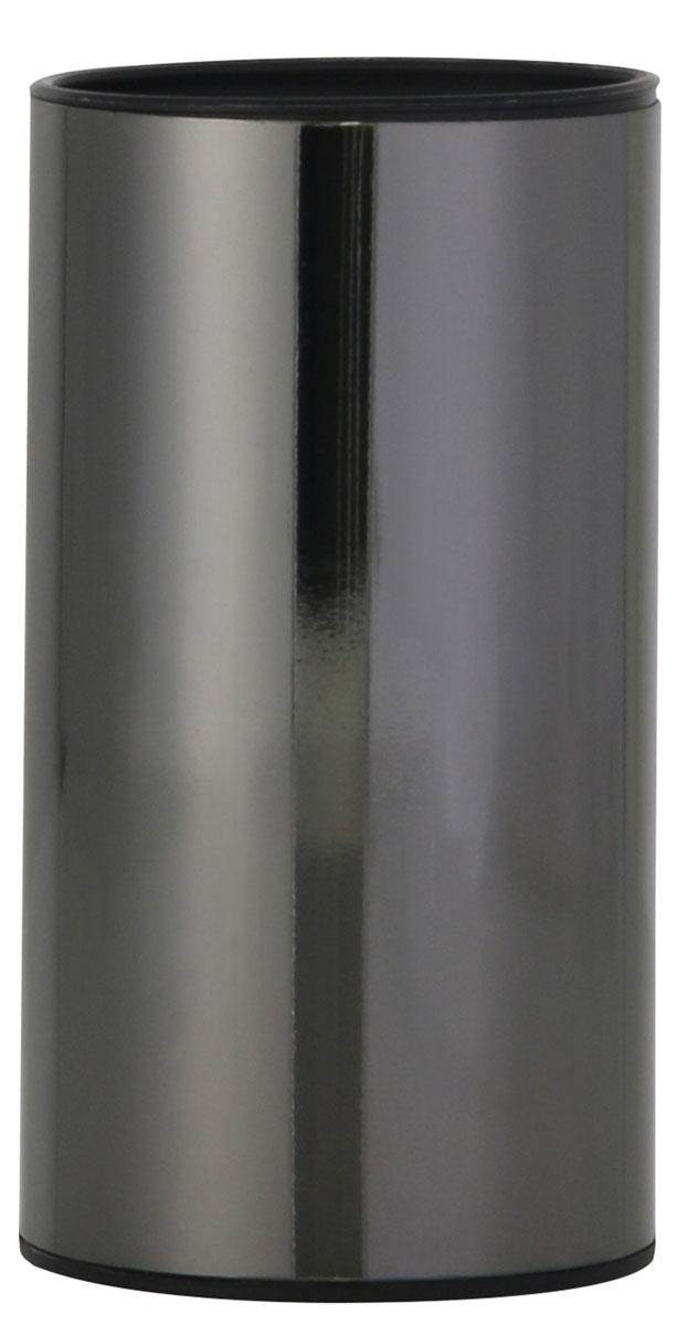 Стакан для ванной комнаты Axentia Bologna, высота 11,8 смCLP446Стакан для ванной комнаты Axentia Bologna изготовлен из сатинированной нержавеющей стали черного цвета снаружи и черного полипропилена внутри. Изделие превосходно дополнит интерьер ванной комнаты, отлично сочетается с другими аксессуарами из коллекции Bologna.Высота стакана: 11,8 см.Диаметр стакана: 6,3 см.