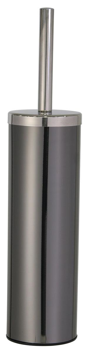 Ершик для унитаза Axentia Bologna, с подставкой, высота 25 см68/5/1Ершик для унитаза Axentia Bologna имеет ручку из высококачественной нержавеющей стали и белую щетку, с жестким густым ворсом. Подставка изготовлена из сатинированной нержавеющей стали черного цвета снаружи и черного полипропилена внутри. Отлично сочетается с другими аксессуарами из коллекции Bologna.Высококачественные материалы позволят наслаждаться покупкой долгие годы. Изделие приятно дополнит интерьер вашей туалетной комнаты.