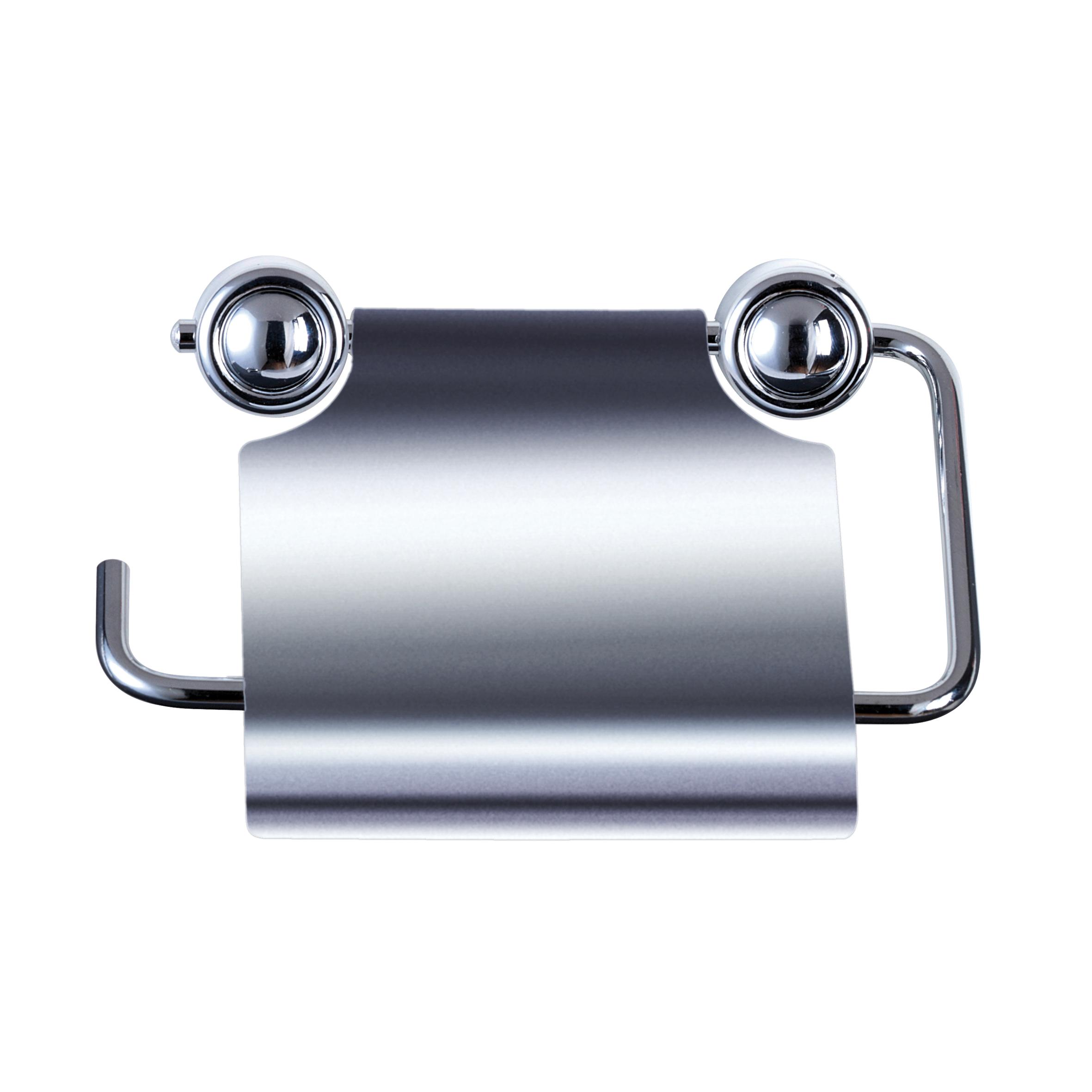 Держатель для туалетной бумаги Axentia Atlantik, с крышкой, 13 х 10 х 13,3 смRICCI RRH-2150-SДержатель для туалетной бумаги Axentia Atlantik, выполненный из высококачественной хромированной и нержавеющей стали, оснащен крышкой. Изделие крепится на стену с помощью шурупов (входят в комплект). Держатель поможет оформить интерьер в выбранном стиле, разбавляя пространство туалетной комнаты различными элементами. Он хорошо впишется в любой интерьер, придавая ему черты современности. Отлично сочетается с другими аксессуарами из коллекции Atlantik.Размер держателя: 13 х 10 х 13,3 см.