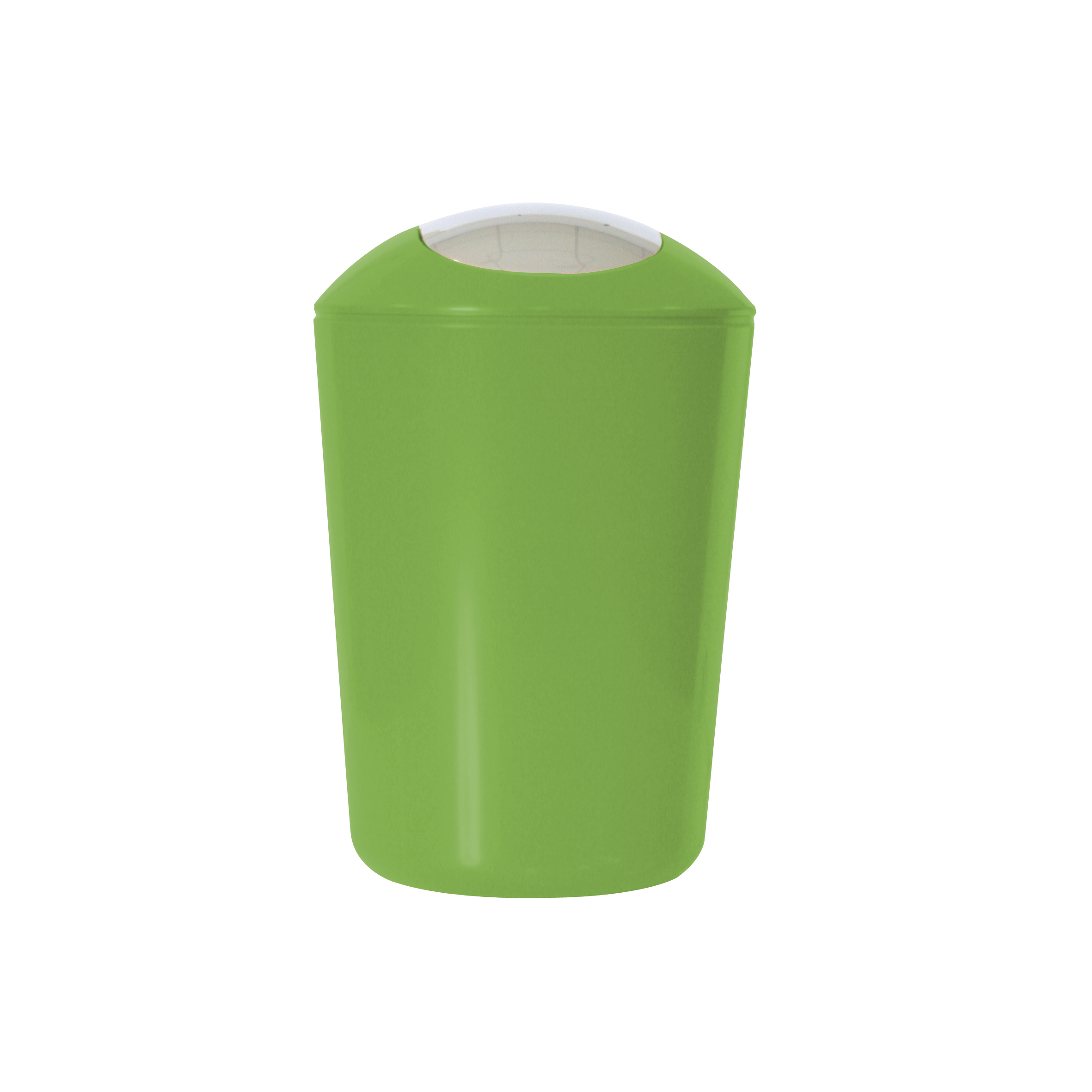 Ведро для мусора Axentia, с крышкой, цвет: зеленый, хром, 5 л11290-MГлянцевое ведро для мусора Axentia, выполненное из высококачественного износостойкого пластика, оснащено хромированную крышку типа качели. Подходит для использования в ванной комнате или на кухне. Стильный дизайн и яркая расцветка прекрасно подойдет для любого интерьера ванной комнаты или кухни. Размер ведра: 20 х 20 х 30 см.Объем ведра: 5 л.
