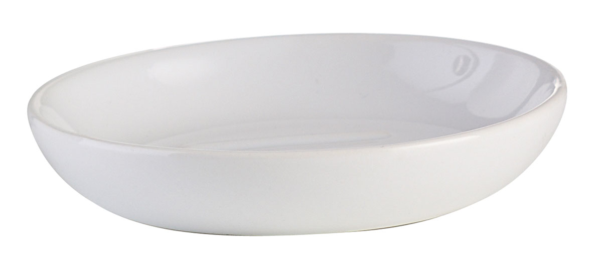 Мыльница Axentia Leandr, диаметр 10,5 см41619Круглая мыльница Axentia Leandr изготовлена из натуральной и элегантной керамики белого цвета. Мыльница Axentia Leandr прекрасно дополнит интерьер вашей кухни или ванной. Изделие отлично сочетается с другими аксессуарами из коллекции Leandr.Диаметр мыльницы: 10,5 см.Высота мыльницы: 2,2 см.
